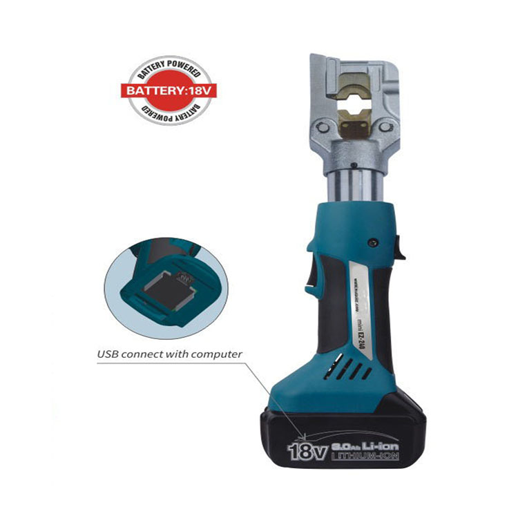 Mini battery crimping tool EZ 240